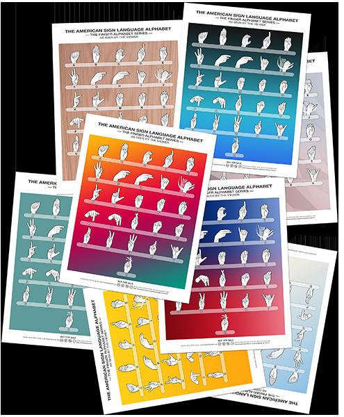 sign language alphabet chart pdf